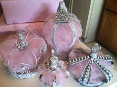 Princess crowns amongst a little girls room is magical & beauty. #BLISS