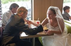 Because nobody should get married in a McDonald's. | 23 Reasons Everyone Needs To Stop Getting Married hahahaha