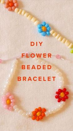 Tie Dye Crafts, Diy Crafts To Do, Diy Crafts Jewelry, Bracelet Crafts, Creative Crafts, Bead Crafts, Beaded Bracelets, Diy Projects For Adults, Diy For Kids