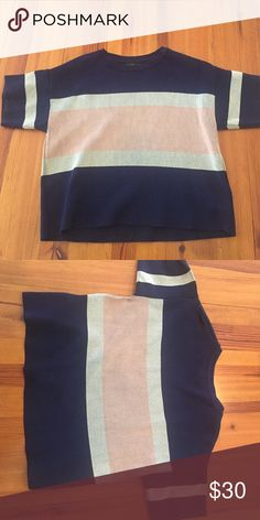 TopShop Top! Super soft and comfortable top! Only worn once. Topshop Tops Blouses