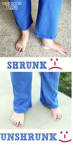 "How to ""Unshrink"" Yo"