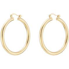 Isabel Marant Hoop Earrings (600 SEK) ❤ liked on Polyvore featuring jewelry, earrings, accessories, gold, gold hoop earrings, gold earrings, gold earrings jewelry, yellow gold jewelry and gold jewelry