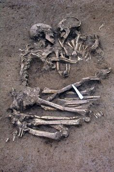 """A young man and woman who had died 6000 years ago..."