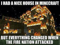 Minecraft/avatar joke