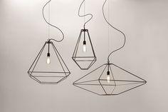 Lampada a sospensione in acciaio design CON.TRADITION by Opinion Ciatti | design Sara Bernardi