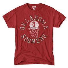 Oklahoma Sooners Hoops T-Shirt