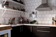 another black kitchen / Swedish