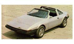 Miura Targa, apresentado no XII Salão do Automóvel, em 1981.