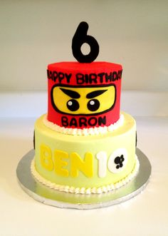 Ninja-Go Ben10 Birthday Cake - Sweets by Millie