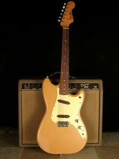 1960 Fender Duo Sonic... Love my little guitar. Wish I had the amp too!