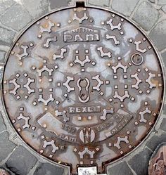 Manhole miscellany: France : Pont-à-Mousson.  From the excellent site of Ian and Jill Maxted