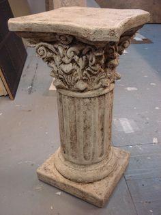 Stone Column Faux Finish  www.izabellainteriors.ca