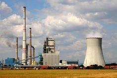Elektrárna Mělník - Uhelné elektrárny ČEZ - Elektrárny - Svět energie.cz Cn Tower, Portal, Building, Travel, Viajes, Buildings, Trips, Traveling, Tourism