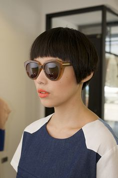 Very Short Haircuts, Short Hairstyles For Women, Pretty Hairstyles, Bowl Haircut Women, Short Hair Cuts, Short Hair Styles, New Hair Do, Hair Addiction, Hair Blog