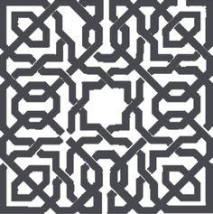 charcoal Islamic Art Pattern, Arabic Pattern, Pattern Art, Turkish Pattern, Oriental Pattern, Moroccan Art, Turkish Art, Motifs Islamiques, Middle Eastern Decor