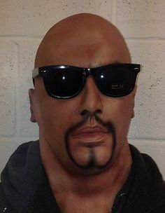 #Realistic latex mask black male man disguise halloween #fancy dress #goatee bear,  View more on the LINK: 	http://www.zeppy.io/product/gb/2/291135980353/