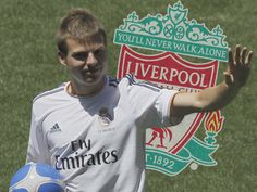 Liverpool have received a boost in their pursuit of Real Madrid's Asier Illarramendi, after the midfielder was reportedly told that he is surplus to requirements at the Spanish giants. You'll Never Walk Alone, Walking Alone, Real Madrid, Liverpool, Football, Sports, Mens Tops, T Shirt, Soccer