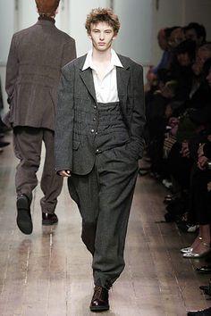 Yohji Yamamoto Fall 2005 Menswear