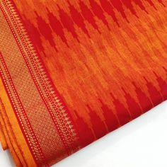 Handloom Cotton Fabric- South Indian Border Fabric in Green and Blue so pretty when worn as scarfs with a simple black tunic in silk or cotton.