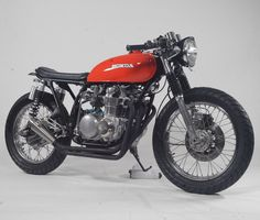 Custom HONDA CB500 Cafe Brat by Steel bent Customs | Moto Rivista