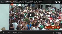1 hora de vídeo: La Rama de Agaete 2014.