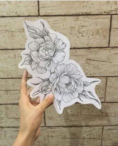 Tattoo Hip Peony 45+ Best Ideas #tattoo Hai Tattoos, Sexy Tattoos, Body Art Tattoos, Tattos, Trendy Tattoos, Small Tattoos, Tattoos For Women, Arm Tattoo, Sleeve Tattoos