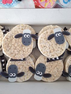Lamb Baby Shower Decorations - Lamb Centerpieces - Sheep Baby Shower - Lamb Party - Lamb Decorations - Set of 5 Lamb Centerpiece Stakes Farm Birthday, Toy Story Birthday, Toy Story Party, Birthday Treats, Animal Birthday, Easter Treats, Lamb Lollipops, Farm Party, Holidays And Events