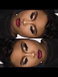24 trendy makeup looks for black women brown skin brows Flawless Makeup, Glam Makeup, Gorgeous Makeup, Love Makeup, Bridal Makeup, Makeup Tips, Beauty Makeup, Makeup Looks, Hair Makeup