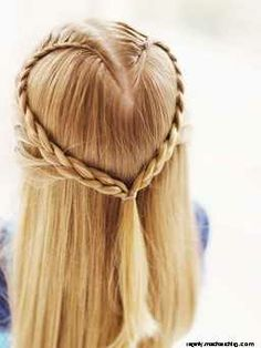 Oooh, a heart braid!