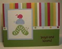 i STAMP by Nancy Riley: BUGS AND KISSES