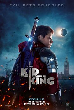 The Kid Who Would Be King - 2019 - Original Movie Poster - Advance Style - Louis Ashbourne S movies 2018 The Kid Who Would Be King - 2019 - Original Movie Poster - Advance Style - Louis Ashbourne Serkis, Rebecca Ferguson, Patrick Stewart Netflix Movies, Movies 2019, Hd Movies, Movies Online, Movie Tv, Prime Movies, Movies Free, Comedy Movies, Watch Movies