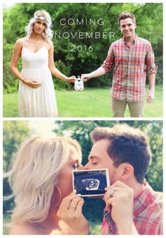 Baby Grimm! Eeek! I'm so excited and happy for this beautiful couple. It's definitely gonna be a cute baby.