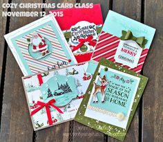 Sootywing Studios: Cozy Christmas Card Class!