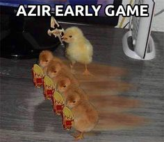 Azir early game