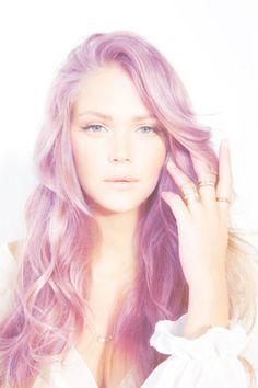 lilac hair:)