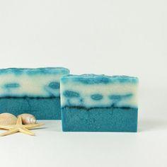 Beachview Soap  Refreshing Aqua Blue Vegan by AmeliaBathandBody, $6.00
