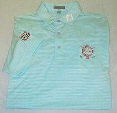TOUR ISSUE PETER MILLAR Summer Comfort  Golf Shirt M Green - TITLEIST FOOTJOY   #PeterMillar #PoloRugby