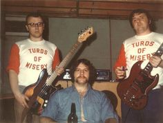 Your dad had the best band names ever.
