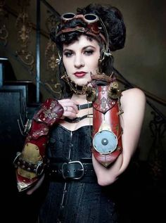 #SteamPUNK ☮k☮ #Girl #coupon code nicesup123 gets 25% off at  www.Provestra.com www.Skinception.com and www.leadingedgehealth.com
