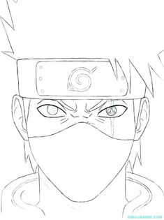 Naruto Coloring Book Pages - Have Fun with These Naruto Coloring Pages Ideas Hi anime lovers. You must know well about Naruto, right? It is a very good Japanese manga series. The pictures of Naruto are very interesting to see. Anime Naruto, Naruto Kakashi, Naruto Shippuden Sasuke, Naruto Art, Naruto Drawings Easy, Anime Drawings Sketches, Anime Sketch, Easy Drawings, Kakashi Drawing