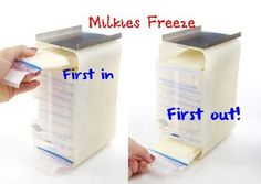 Milk breast food containers grade
