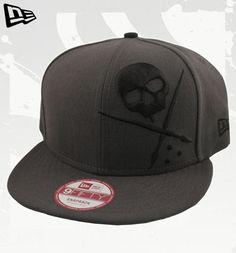 """FOREVER New Era Snapback Hat by Sullen: This grey and black """"Forever"""" hat by Sullen features a snap back that allows you to adjust the hat to perfectly fit your head. Retail Price: $34.99"""