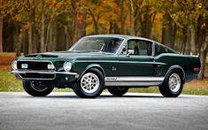 Ford Mustang Generations: The Most Popular Ford Mustang : 1968 Ford Mustang Shelby GT500 King of the Road