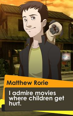 Featuring Matthew Rorie, Giant Bomb Product Manager and noted puppy enthusiast. Giant Bomb, Persona 4, It Hurts, Puppies, Funny, Anime, Wordpress, Movies, Characters
