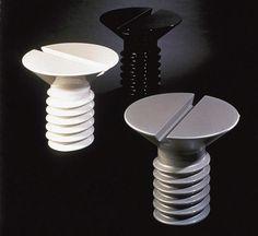 Screw Table H. 62 cm