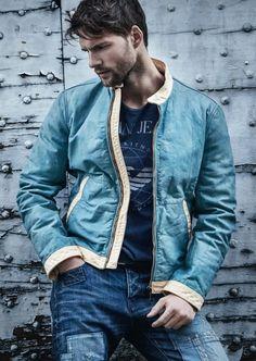 Tomas Skoloudik for Armani Jeans Fall 2014 - CoverMen Mag
