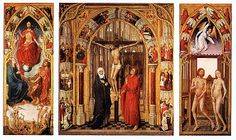 Triptych with scenes from the life of John the Baptist, so called Saint Johns Altarpiece, Gemäldegalerie, Berlin