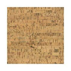 """APC Cork Floor Tiles 12"""" Solid Cork Flooring in Avenue"""