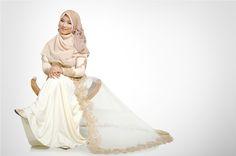 syari wedding dress