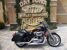 2014 Harley-Davidson® XL1200T - Sportster® SuperLow® 1200T Stock: D6264A | Bruce Rossmeyer's Harley-Davidson®